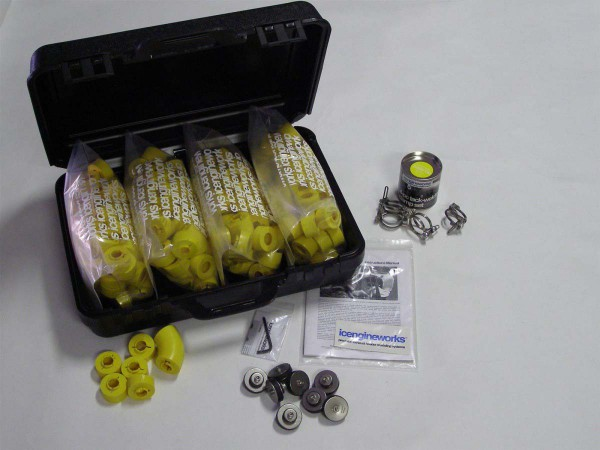 "icengineworks PRO Plus System / 1750 Serie / 1-3/4"" (45mm) - 8 Zylinder Kit (Schritt 1 & 3)"