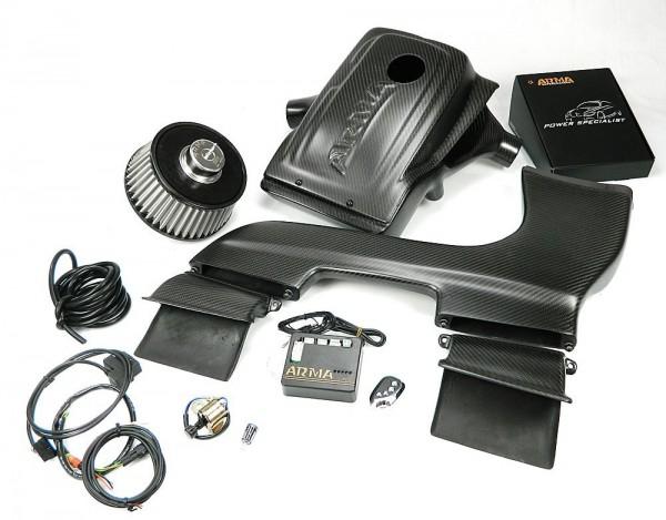 ARMA Carbon Airbox Variable Ansaugung BMW E87.82 135 1M