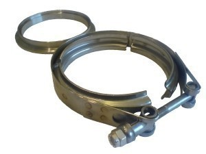 Vibrant Perfomance V-Band Schelle für 127mm Ringe