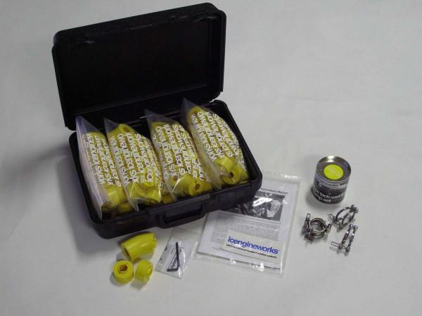 "icengineworks BASIC Plus System / 1625 Serie / 1-5/8"" (42mm) - 4 Zylinder Kit (Schritt 1 & 3)"
