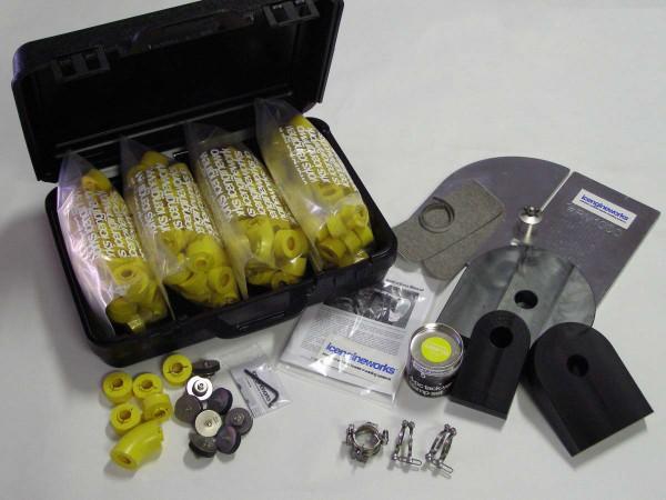 """icengineworks Komplettsystem / 2000 Serie / 2"""" (51mm) - 8 Zylinder Kit (Schritt 1, 2, 3)"""