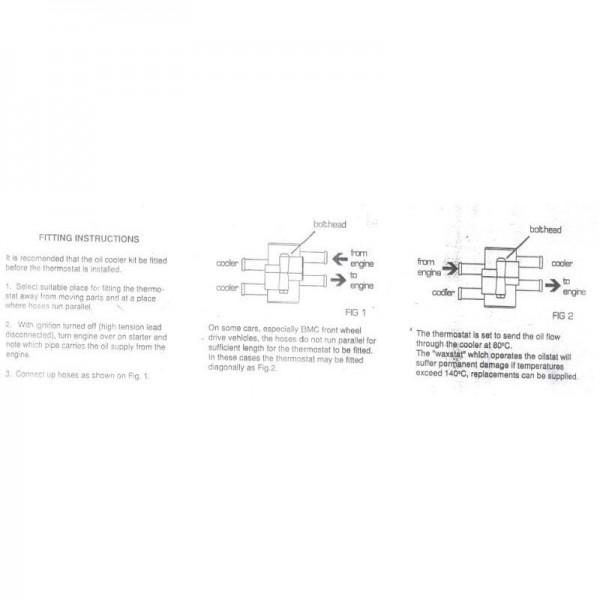 Schlauch-Thermostat 1 / 2 / 13mm für Ölkühler