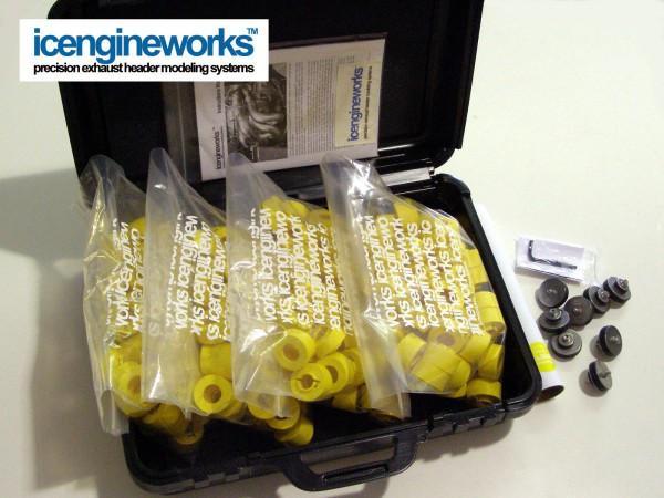 """icengineworks PRO Kit / 2000 Serie / 2"""" (51mm) - 8 Zylinder Kit (Schritt 1)"""