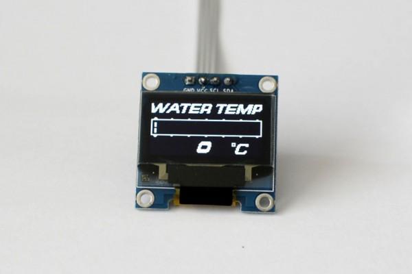 Zada Tech OLED digitale Wassertemperaturanzeige (Celsius)